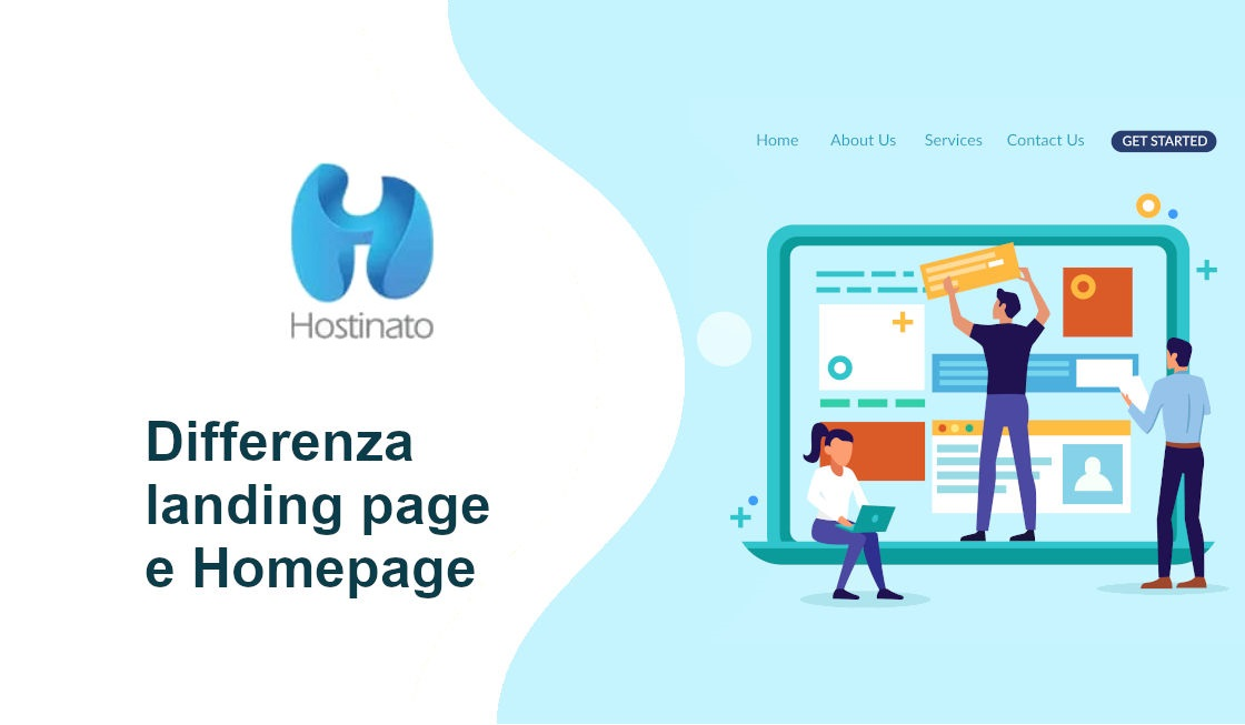 Differenza landing page e Homepage