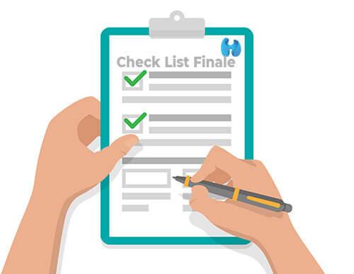 Checklist messa online prestashop