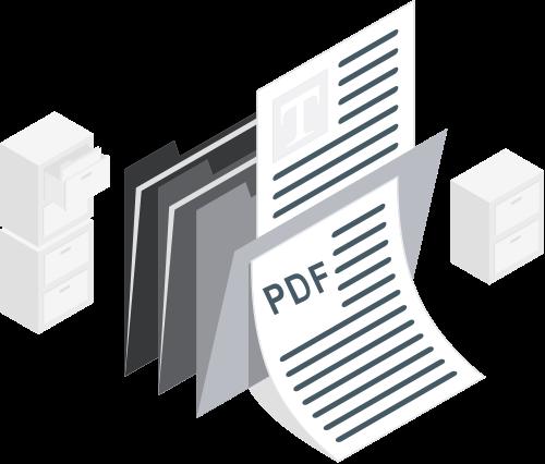 PDF schede prodotto B2B