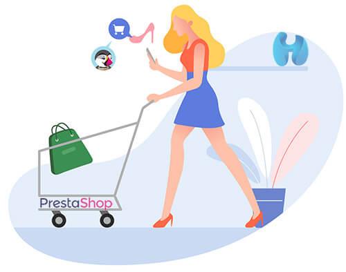 Immagine Iniziare a vendere online prestashop